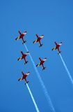 Red planes Stock Photo