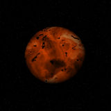 Red planet Royalty Free Stock Photography
