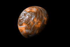 Red planet Royalty Free Stock Image
