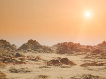 Red planet Stock Images