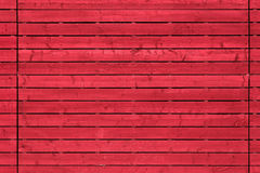 Red plank wood Royalty Free Stock Photo