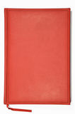 Red planner Stock Photography