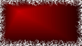 Red Plants Wallpaper. Red wallpaper with gradient background and with border from white plants Royalty Free Stock Image