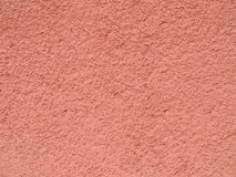 Red. Plaster in our house suitable as background stock photography