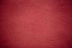 Red plaster texture Stock Photos