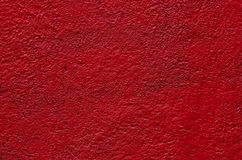 Red plaster wall background Royalty Free Stock Photos