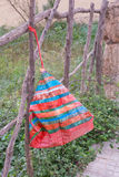 Red plastic bag Stock Image