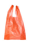 Red plastic bags Stock Image