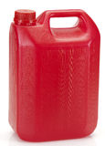 Red plastic container Royalty Free Stock Photography