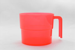 Red plastic cup Royalty Free Stock Photography