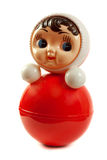 Red Plastic Doll Insulated Stock Images