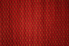 Red plastic mats pattern. Red plastic woven mats pattern background, Texture, Closeup, Thailand Royalty Free Stock Images