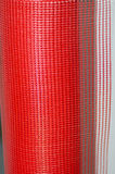 Red plastic mesh Royalty Free Stock Photos