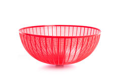 Red plastic mesh cover (used to cover food to protect from insec Royalty Free Stock Photography