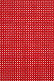 Red plastic placemat texture Royalty Free Stock Photography