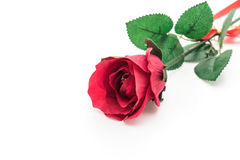 red plastic rose Stock Images
