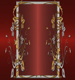 Red platinum gold.. Royalty Free Stock Images