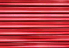 Red pleated door background Royalty Free Stock Photos