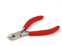 Red pliers Royalty Free Stock Photo