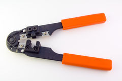 Red pliers Stock Images