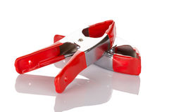 Red pliers Royalty Free Stock Photography