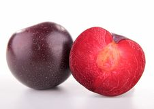 Red plum Stock Images