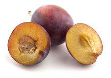 Red plum fruit Royalty Free Stock Photography