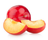 Red plums Stock Image