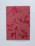 Red Pocket Envelope. Chinese traditional Gold Red Pocket envelope Stock Image