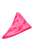 Red pocket square Royalty Free Stock Images