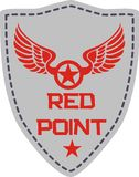Red point Royalty Free Stock Image