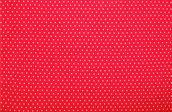 Red polka dot background Royalty Free Stock Images