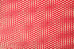 Red polka dot background Royalty Free Stock Image