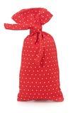 Red polka dot bag Royalty Free Stock Photo