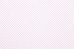 Red polka dot fabric Royalty Free Stock Photo