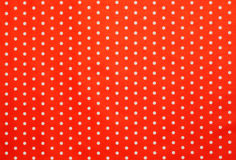 Red polka dot pattern Stock Images