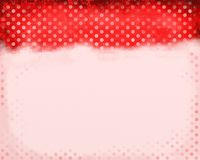 Red Polka Dots Royalty Free Stock Images