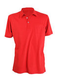 Red polo shirt Royalty Free Stock Photo