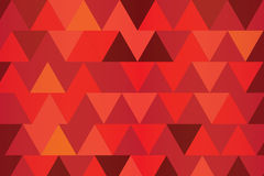Red poly abstract background Stock Images