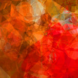 Red polygons Royalty Free Stock Images