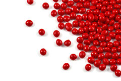 Red polymer resin Stock Photography