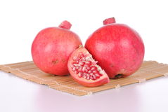 Red pomegranate Royalty Free Stock Images