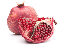 Red pomegranate fruit Stock Image