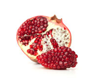 Red pomegranate fruit Stock Photos
