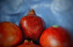 Red pomegranate royalty free stock image