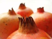Red pomegranates Stock Photos