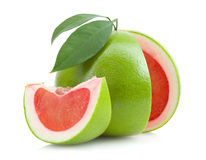 Red pomelo Stock Images