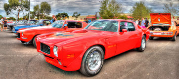 Red Pontiac Trans Am Royalty Free Stock Photos
