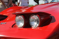 Free Red Pop Up Headlamps Stock Image - 53853991