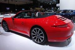 Red Porsche 911 Carrera s Royalty Free Stock Photo